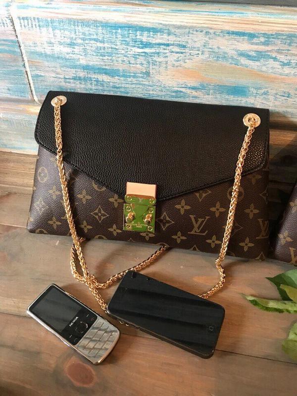 0393d615a2ef Коричневая сумка-клатч/женская сумка/длинный ремешок/женская коричневая  сумка1 фото ...