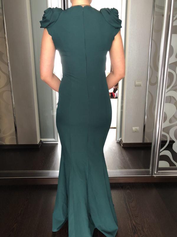 023e09d48c4 Зеленое платье в пол1 ...