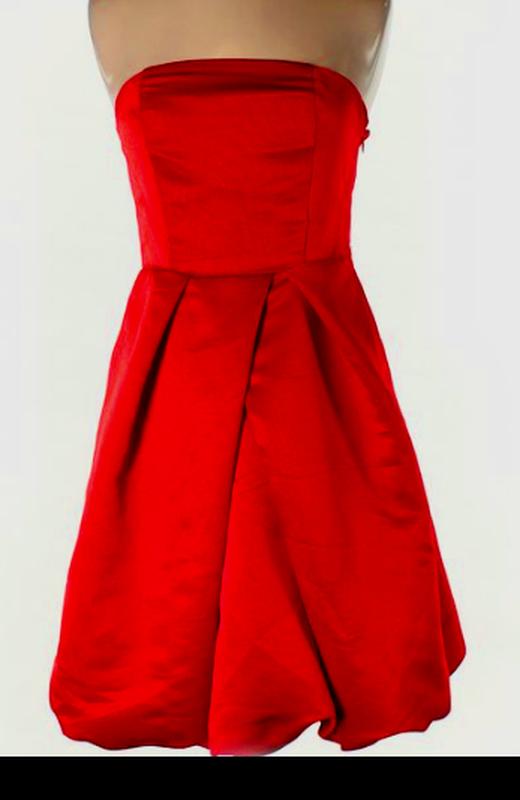 53eb01e2651 Красное коктейльное платье express design studio1 фото ...