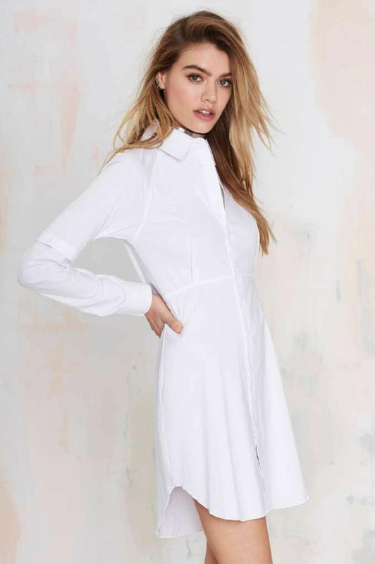 Белое платье рубашка распродажа -50%♥️ H&M, цена - 99 грн, #13466724, купить по доступной цене   Украина - Шафа