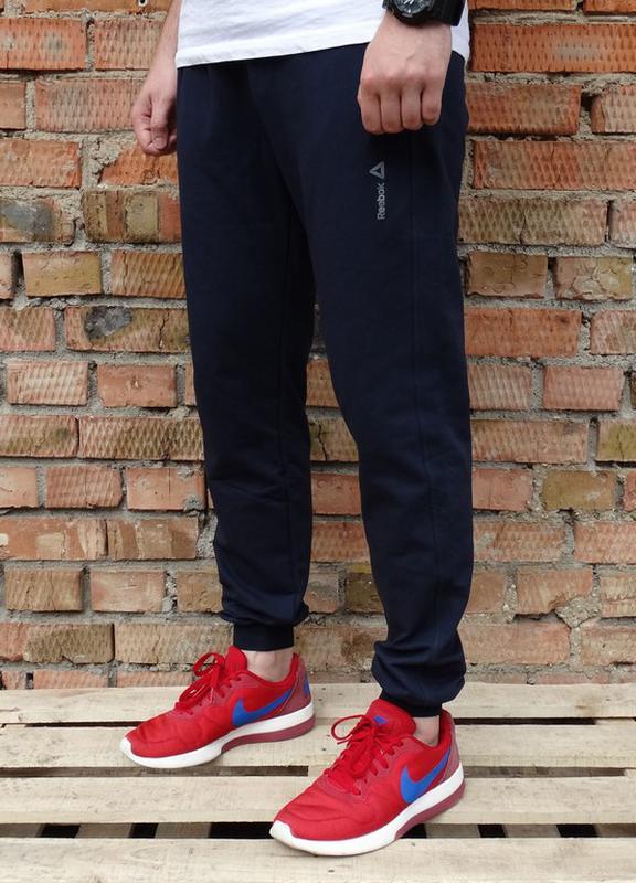a2b0b069 Мужские спортивные штаны рибок тёмно-синие, цена - 299 грн ...