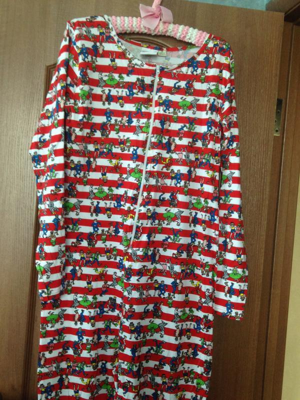 Love to lounge яркий человечек кигуруми слип костюм пижама комбинезон  р.14-16 xl ... 34beb785b3d9a