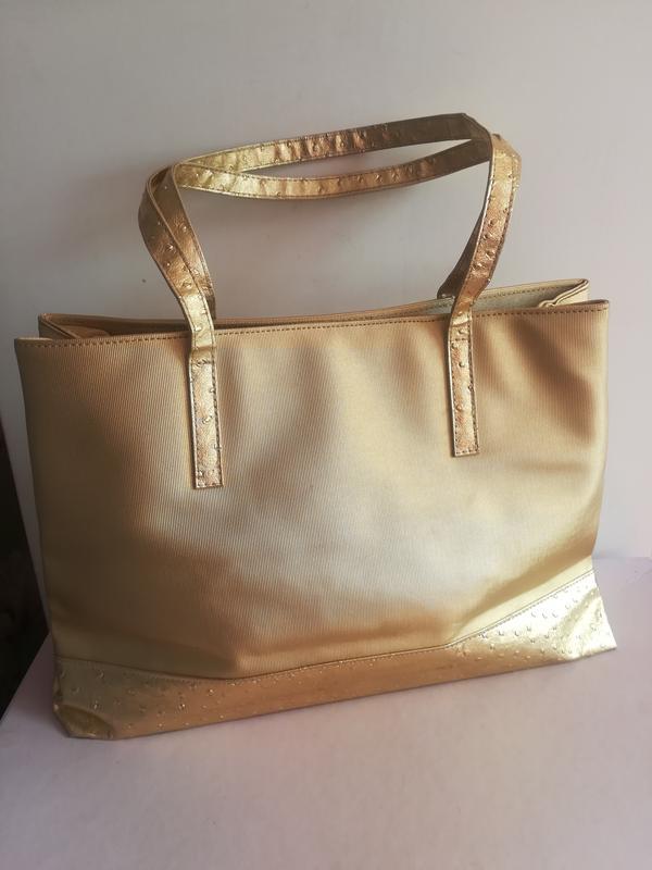 983301130f06 Удобная сумка золотого цвета, цена - 199 грн, #13585024, купить по ...