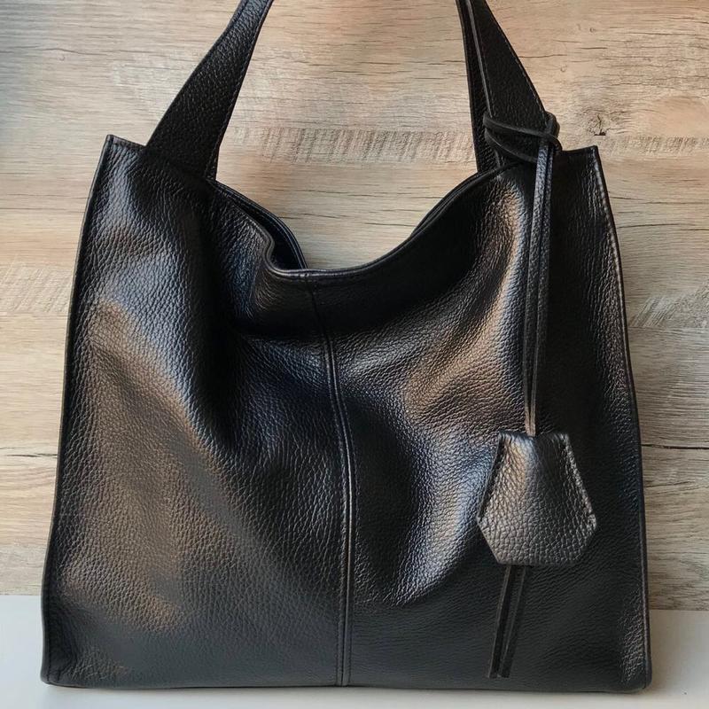 d3401cfac84d Женская сумка шопер кожаная мягкая италия, цена - 1760 грн ...