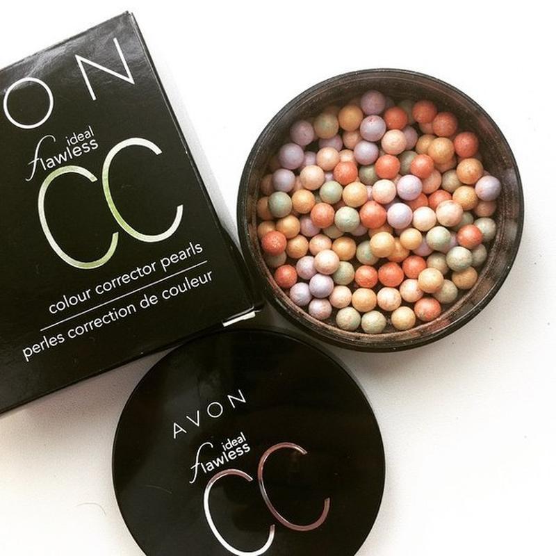 Avon пудра-шарики с корректирующим эффектом купить косметику кли