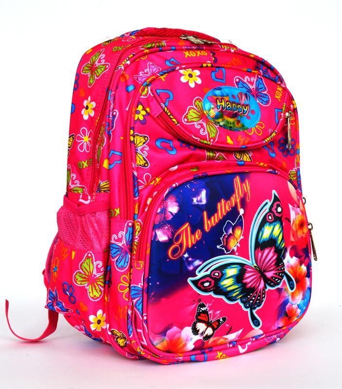 aafd4a5417e5 Школьный рюкзак с ортопедической спинкой и с 3д рисунком розовый1 фото ...