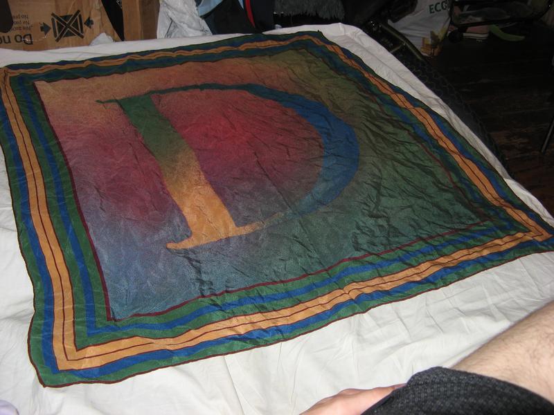 07582fb232f8 Платок шарф брендовый шелковый christian dior оригинал (Christian Dior) за  600 грн.   Шафа