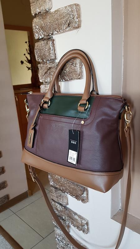 6ace463d7748 Американская кожаная женская сумка tignanello. сша. оригинал! новая.  распродажа! скидка.