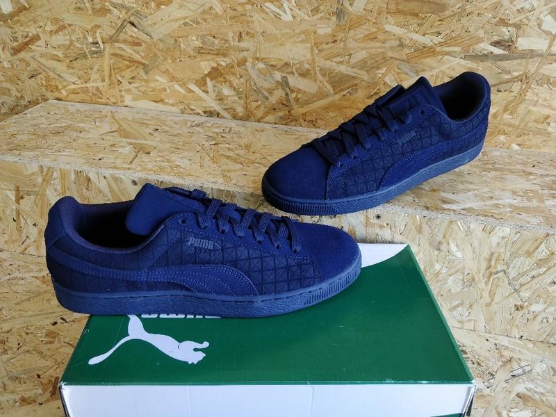 Puma оригинал новые кожаные мужские кроссовки кеды размер 44 42 Puma ... 23cba7ce65893
