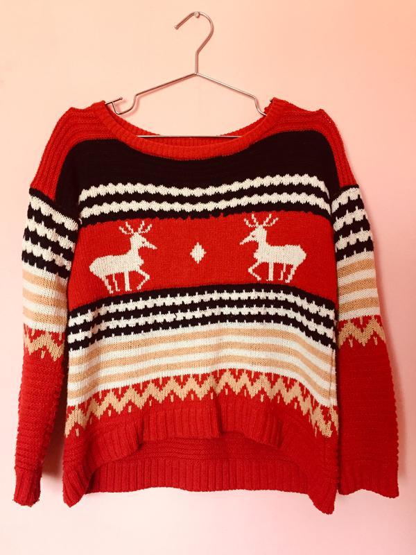 Новорічний теплий светр1  Новорічний теплий светр2 63bec72e0dfde