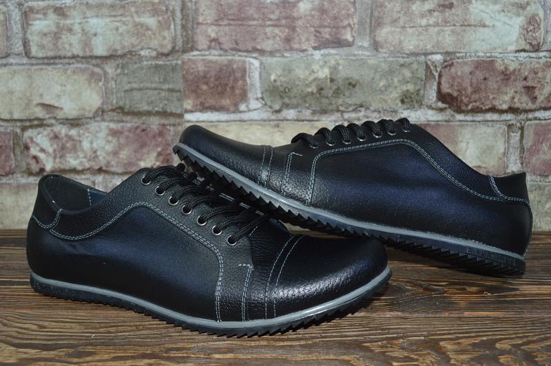 bcf3e4fab Кожаные мужские туфли viva на шнуровке 42размер стелька 27см, цена ...