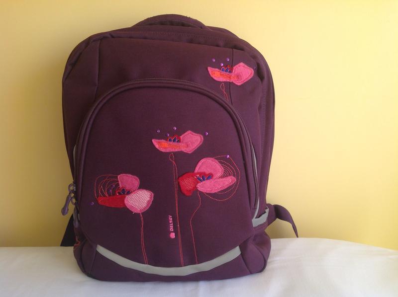 de3d1de030bc Школьный рюкзак с ортопедической спинкой от французского бренда delsey1 ...