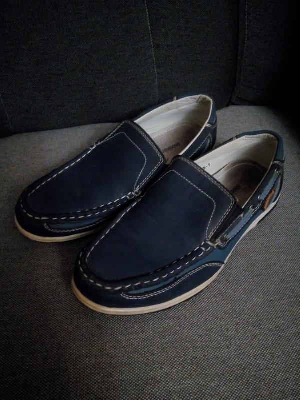 8b0f2dce0 Синие мокасины 25 размера, цена - 150 грн, #13754764, купить по ...