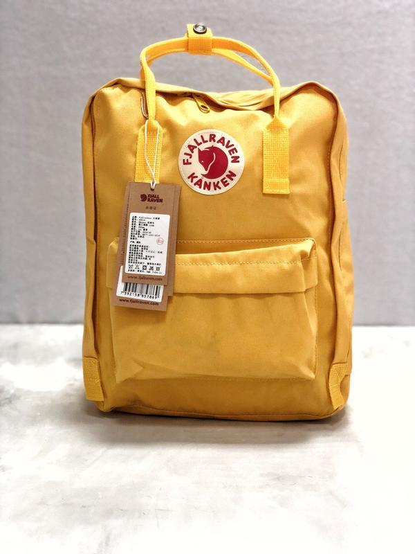 97f102778c54 Рюкзак канкен fjallraven kanken сумка портфель желтый, цена - 589 ...