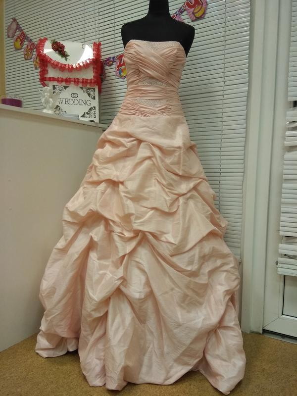 d543b2fc758473a Свадебное платье пудрового цвета Mori Lee, цена - 3200 грн ...