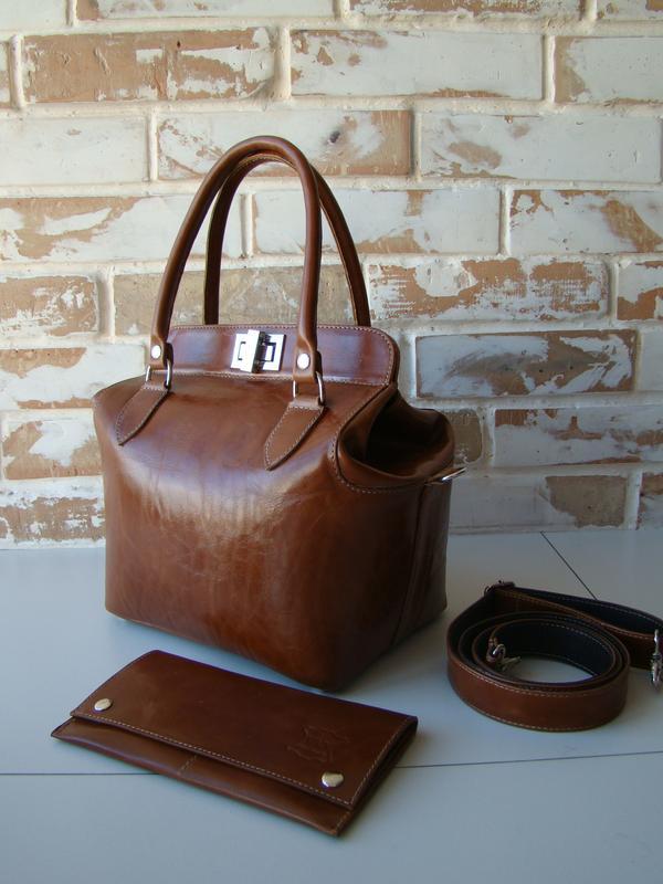 692a039cb368 Шикарная кожаная женская сумка-саквояж  рыжая сумка  женская сумка1 ...