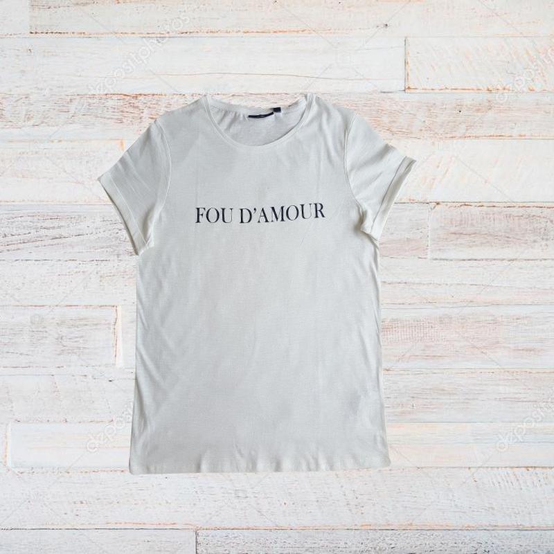 Стильна літня футболка Kiabi Woman 0a34bd121afa9