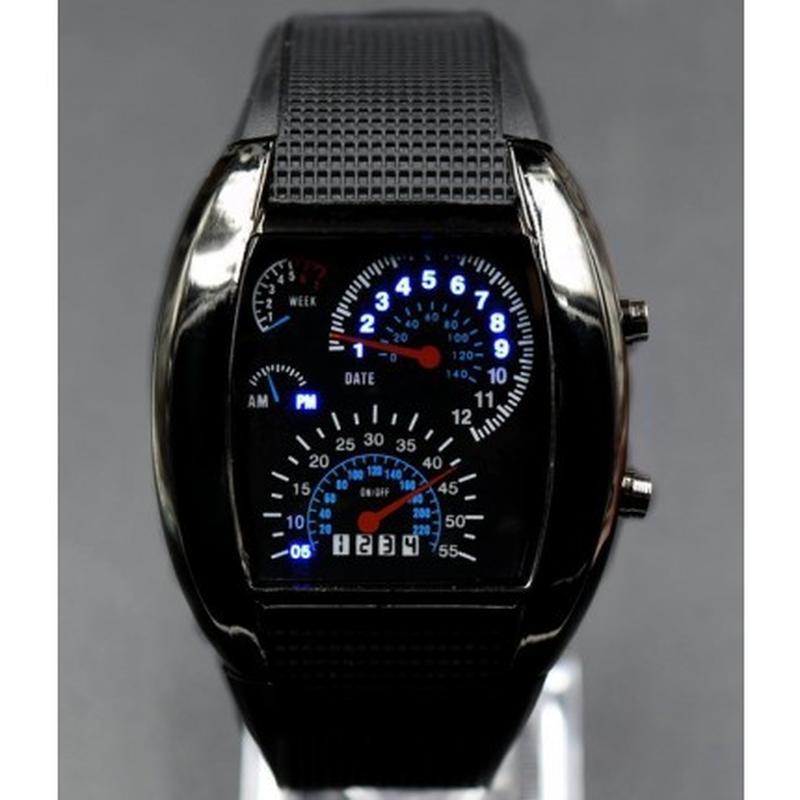 e9302b84 Бинарные часы led watch спидометр черные, цена - 150 грн, #13922240 ...