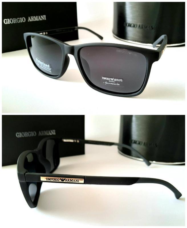 Мужские солнцезащитные очки линзы полароид в матовой оправе1 ... a8d1ce3d12e56