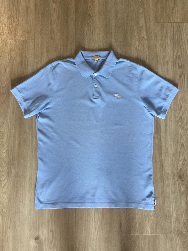 Синяя футболка burberry размер l (Burberry) за 450 грн.   Шафа 1e6369d9f8f
