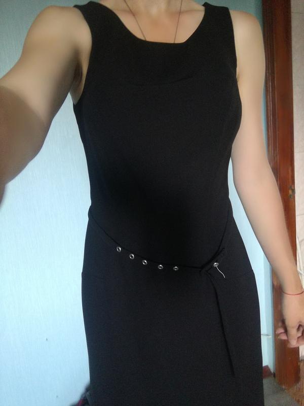 5eb3a0bcd99 Строгое черное платье американского бренда papaya Papaya