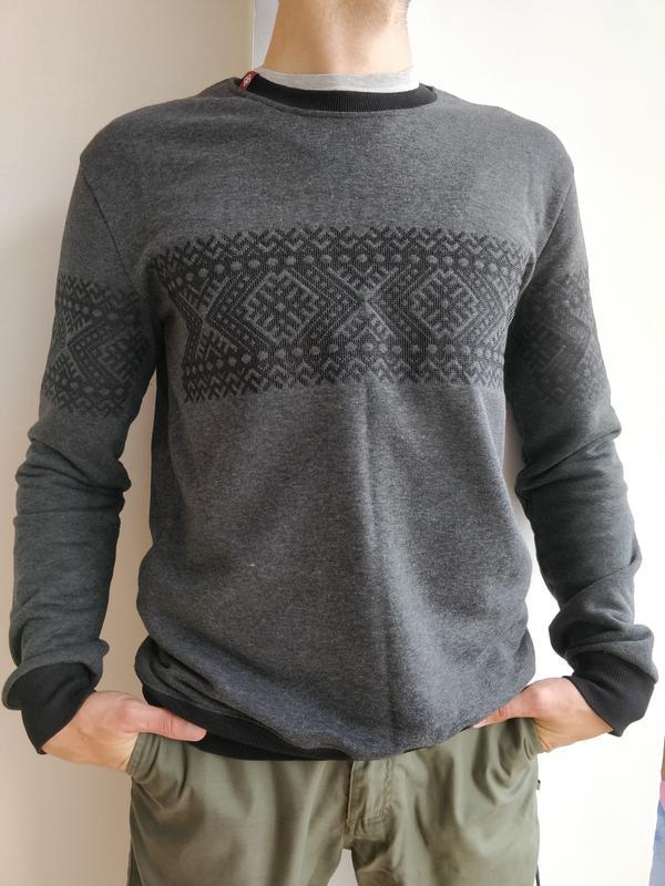 Чоловічий світшот з вишивкою folk moda1 ... 18601a1cb3a22