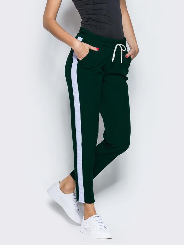 d3a6ebdb0f2b Укороченные брюки с лампасом женские брюки ,длина7/8, с 42 по 50 р, 3 цвета  за 270 грн. | ...