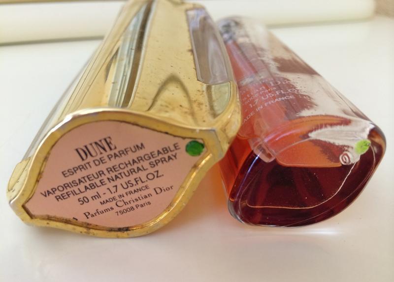 духи винтажные Christian Dior Dune Esprit De Parfum 50 мл