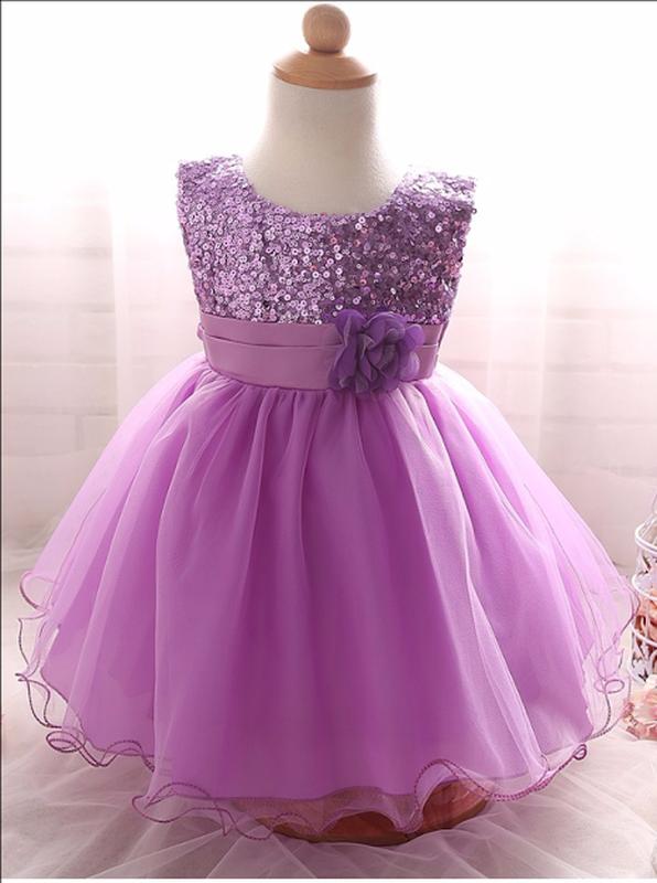 197ae897001 Размер 80-160 детское нарядное пышное платье для девочки с пайетками1 фото  ...