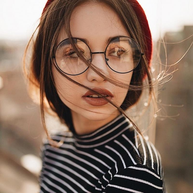 Круглые очки гарри поттера нулевки имиджевые для зрения Glamorous ... 1005e8b5815