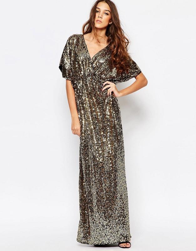 Распродажа! длинное вечернее платье в пайетки first i1 ... 2b764b4dcc753