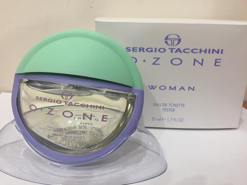 719148abf096 Sergio tacchini o-zone woman туалетная вода тестер с крышечкой 50 мл  оригинал италия1 ...