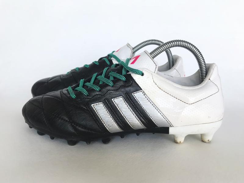9489820f Бутсы adidas ace 15.3 fg/ag original кожаные копочки шиповки 40.51 ...