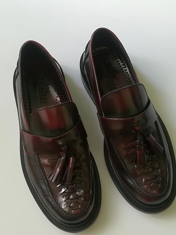 fc22b5ca5f57 Шикарные кожаные туфли ikon original англия, цена - 599 грн ...