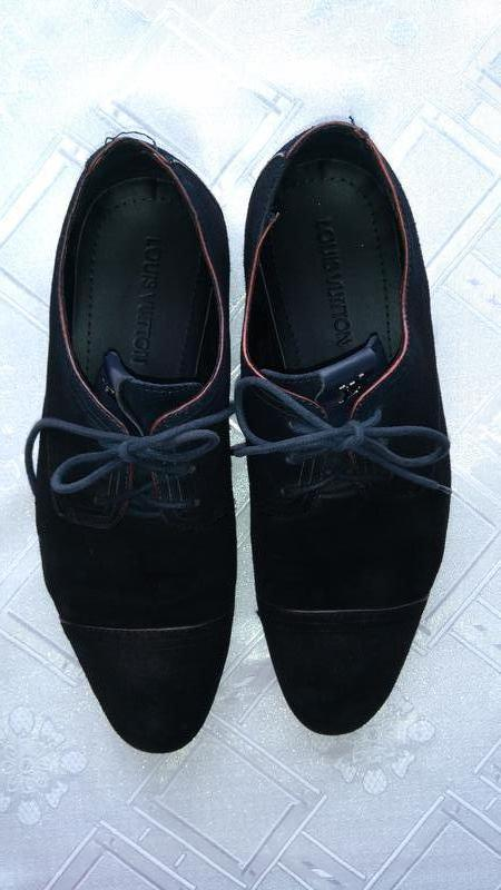 Замшеві мешти туфлі відомого бренду Louis Vuitton e33878da4edb9
