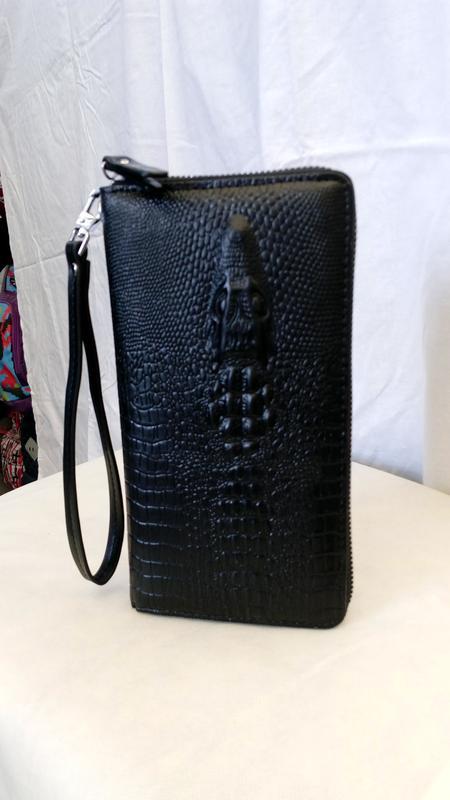 1681327fbe55 Клатч кошелёк мужской крокодил оригинал Balisa, цена - 570 грн ...