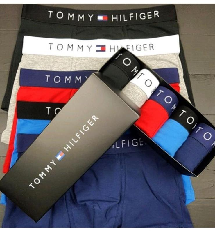 Набір чоловічих трусів в коробці Tommy Hilfiger 455b1fa6db1ea
