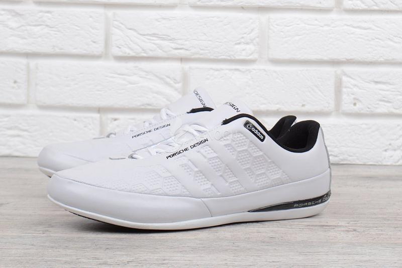 a35077946 Кроссовки мужские кожаные adidas porsche design белые порше из натуральной  кожи1 фото ...