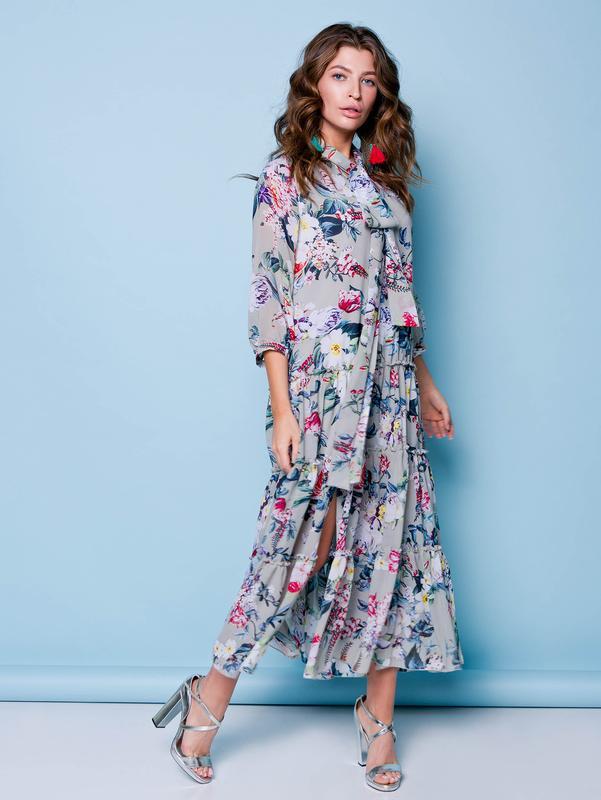 b328e874815 Летнее платье - сарафан шифон1 фото ...
