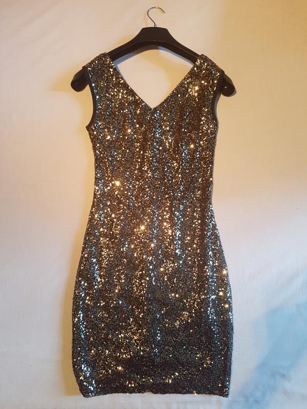 a839af8cb96 Платье летнее пайетки. reserved. новые! размер s.1 фото ...