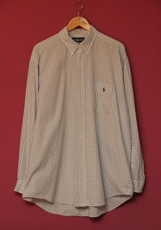 c20970d85c04b1a Polo ralph lauren рубашка клечатая xl оригинал Ralph Lauren, цена ...