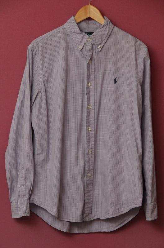 ecf89bbb1bcc645 Polo ralph lauren l клечатая рубашка в идеальном состоянии оригинал.1 ...
