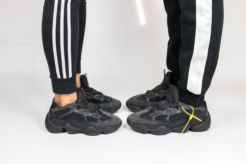 "d99137f344a Кроссовки унисекс adidas yeezy 500 ""utility black"" (женские  мужские)1 ..."