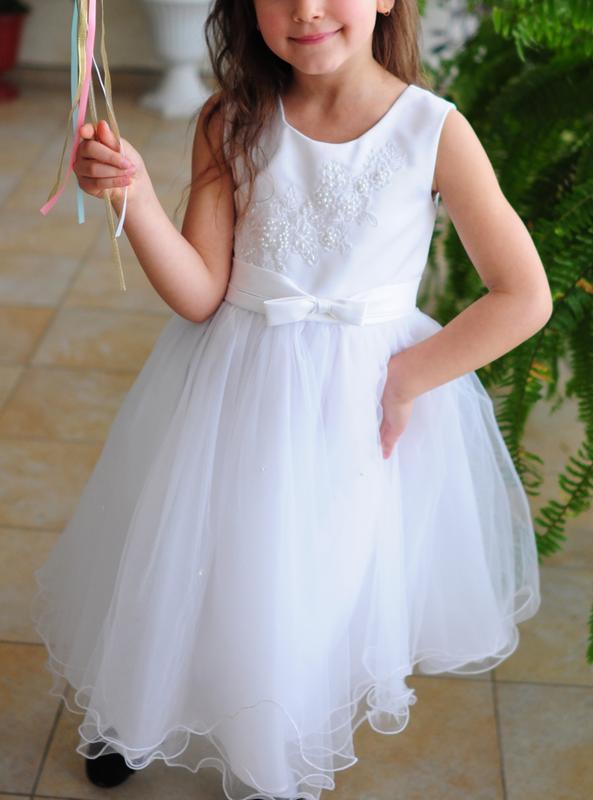 cdaa4b6d1bf Нарядное платье на 5-7 лет. италия1 ...