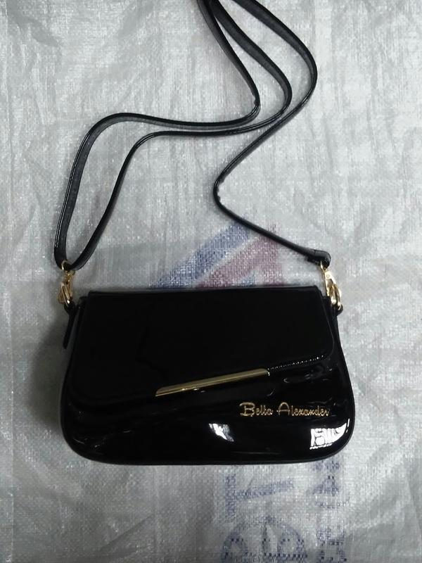 75fd516f3a59 Черный лаковый клатч, цена - 595 грн, #1674209, купить по доступной ...