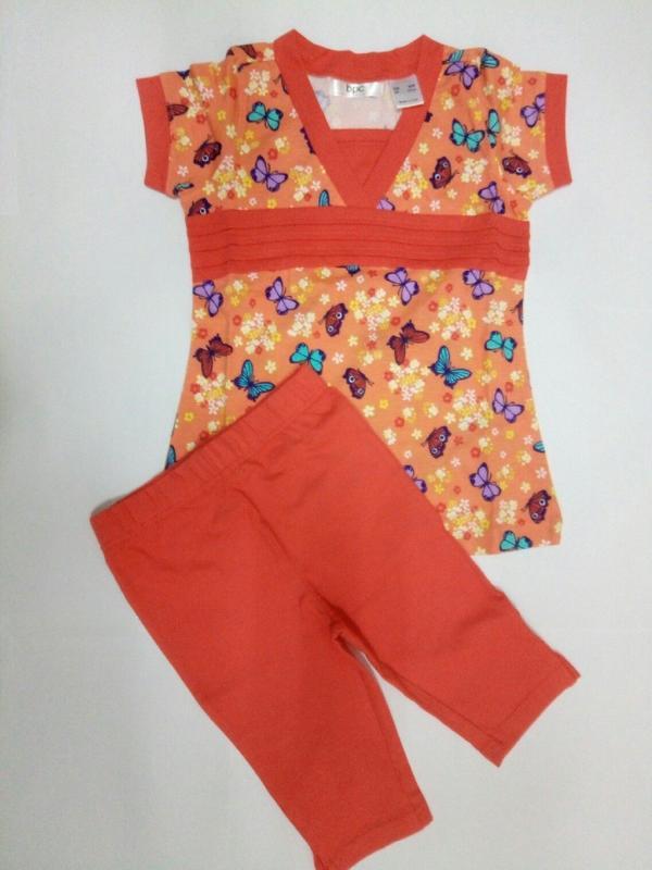 Летний костюм на девочку  туника + леггинсы р. 92 98 Bonprix, цена ... 54ea24e2c67