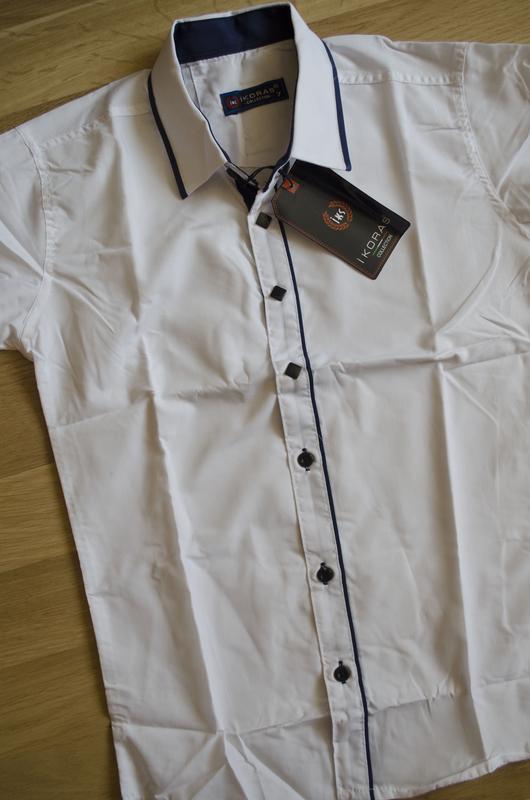 Стильна рубашка на довгий рукав хорошої якості Турция 06850464e89c9
