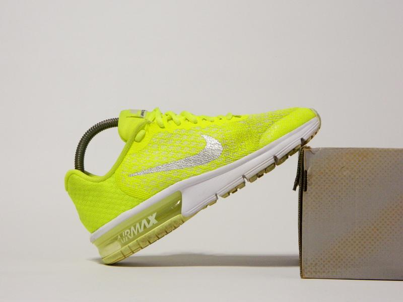 san francisco 35cac a00c8 Кроссовки nike air max sequent 2 gs volt running shoes 869994-7001 ...