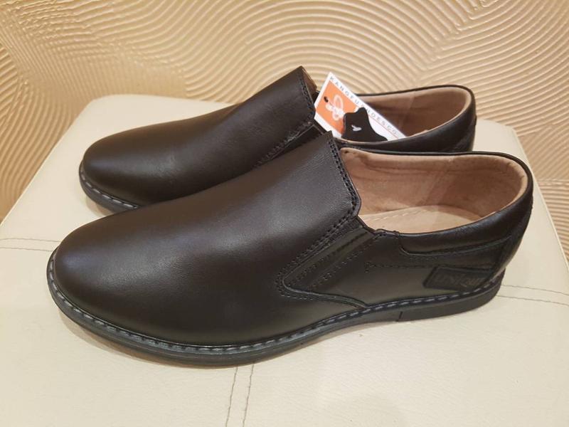 74c56803d Кожаные подростковые туфли для подростка кожа шкіряні підліткові туфлі  школа шкіра р.36-411 ...