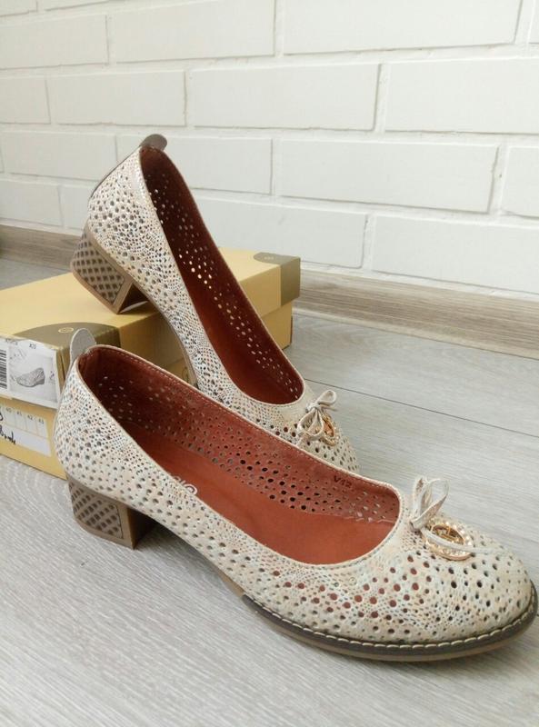 fe60224f5685 Брендовые кожаные туфли vikttorio fashion classic, цена - 900 грн ...